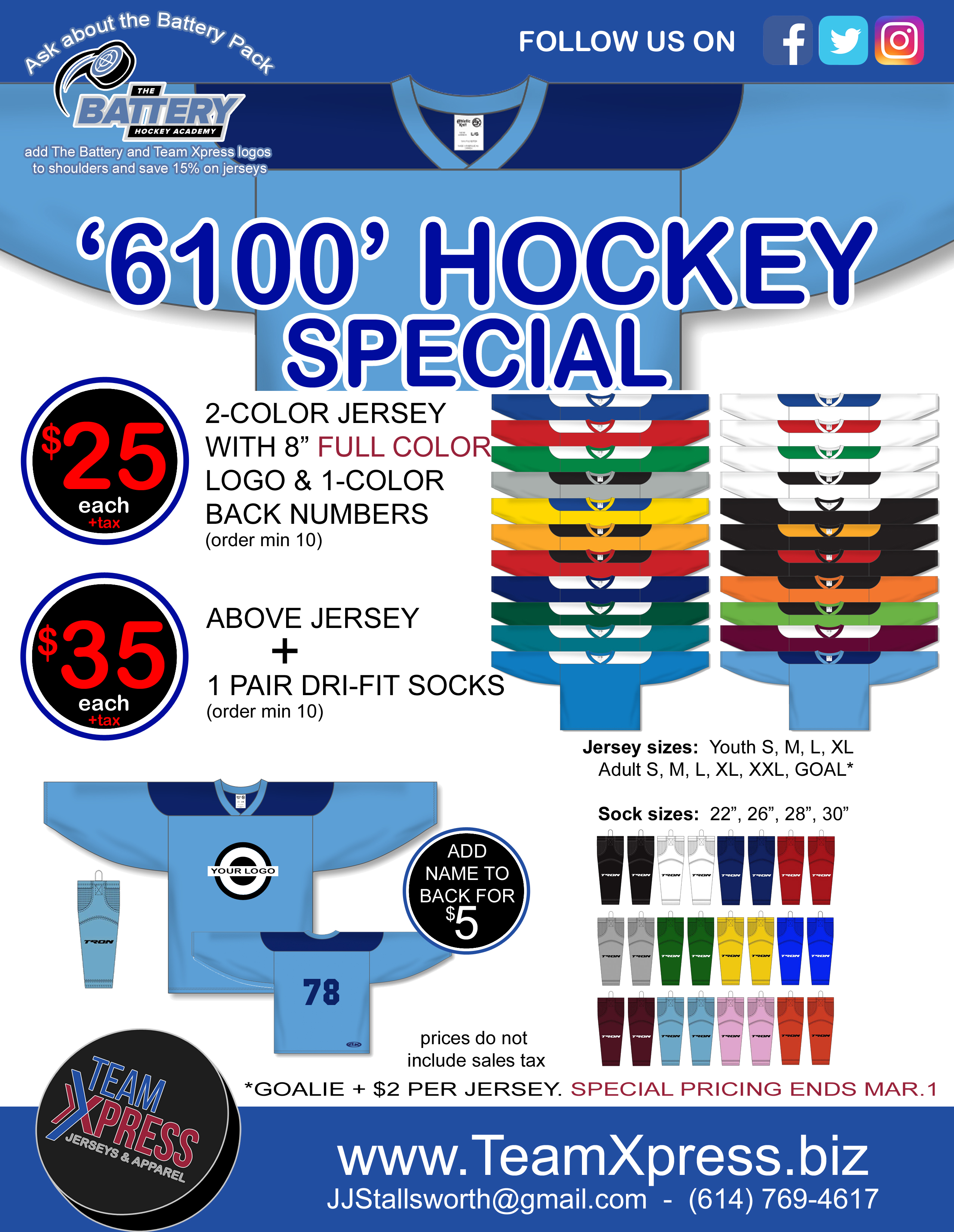 6100 Jersey Special